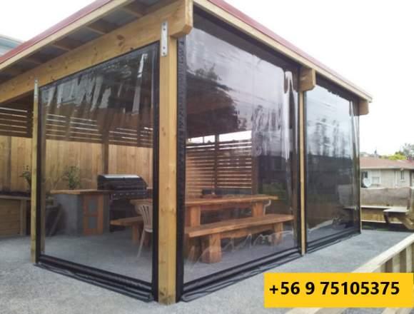 Cierres de PVC Para Terraza