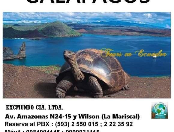 TOUR GALÁPAGOS ECUADOR