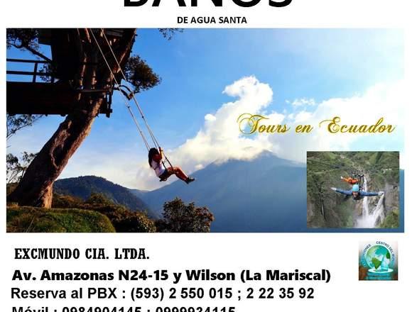 TOUR BAÑOS AMBATO ECUADOR