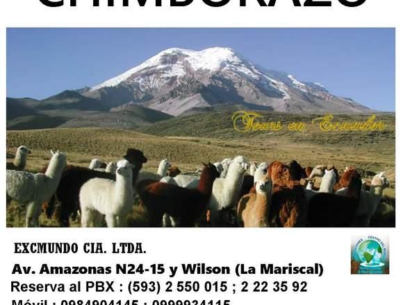 TOUR CHIMBORAZO ECUADOR