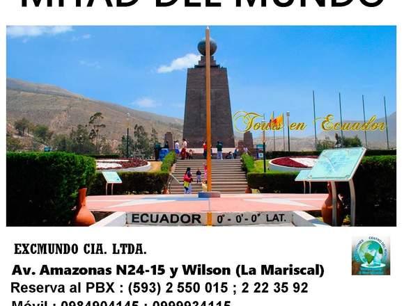 TOUR MITAD DEL MUNDO