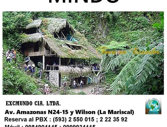 TOUR MINDO  SAN MIGUEL DE LOS BANCOS- ECUADOR
