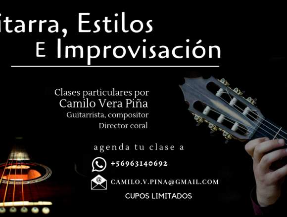 Clases de Guitarra para todos los niveles