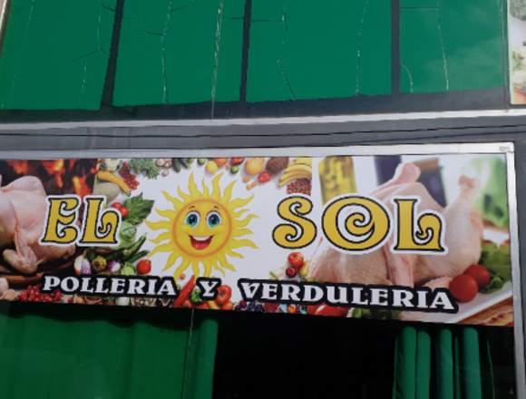 """""""EL SOL, Pollos, Frutas, y Verduras"""""""