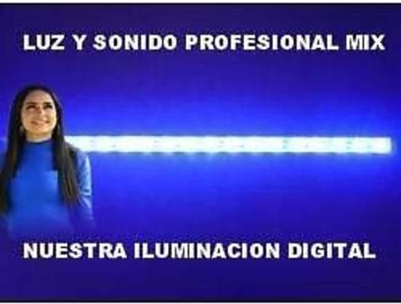 Luz y sonido profesional en Puebla.