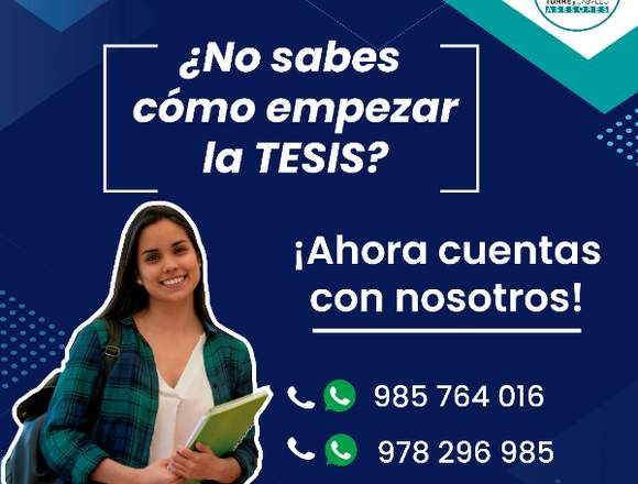 ESPECIALISTAS EN TESIS
