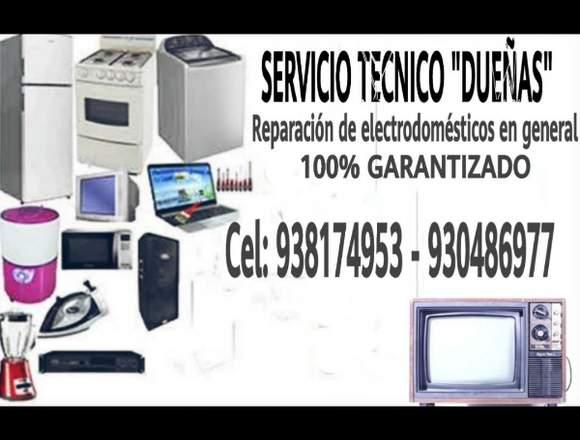 Reparacion electro domesticos