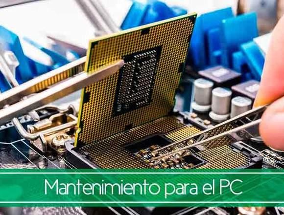 Reparación y Mant. de Computadoras y Laptops.