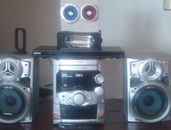 Equipo de sonido Panasonic con dvd