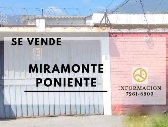 Venta Casa en  Colonia Miramonte