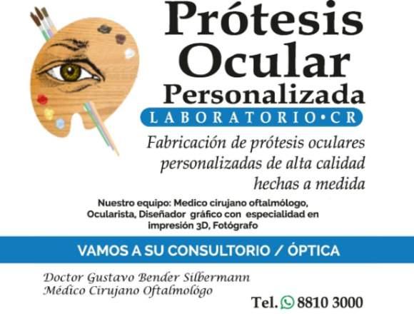 Prótesis Oculares Personalizadas Costa Rica