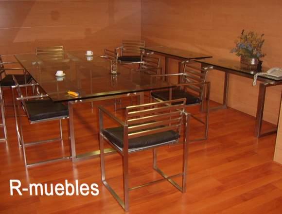 Fabrico Muebles En Acero Inoxidable y Fierro