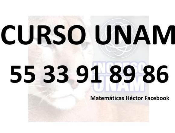 Curso de Ingreso UNAM