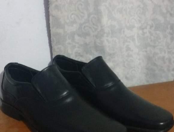 zapato de puro cuero