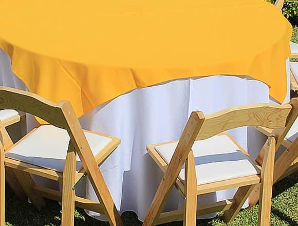 Manteleria para vestir Mesas de Salon o Jardin
