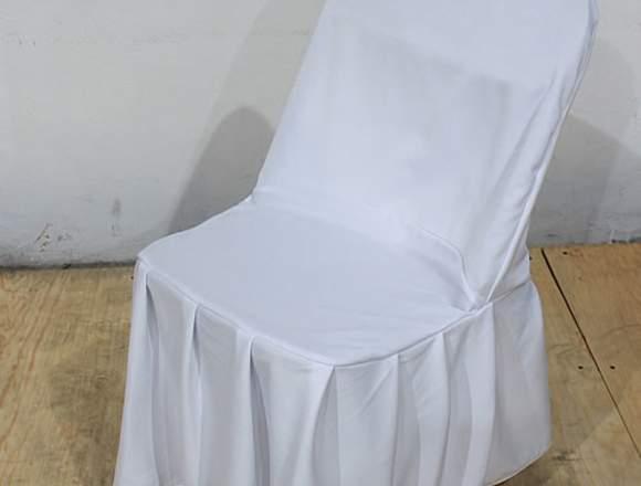 Cubresillas blancos para vestir sillas en venta