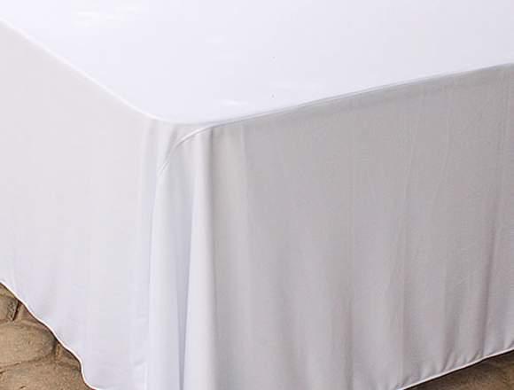 Manteles Blanco para vestir Mesa Plegable Imperial