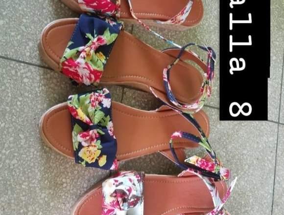 Bellas sandalias para damas