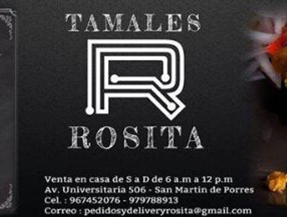 TAMALES ROSITA - VENTA DE TAMALES DE PURO MAIZ