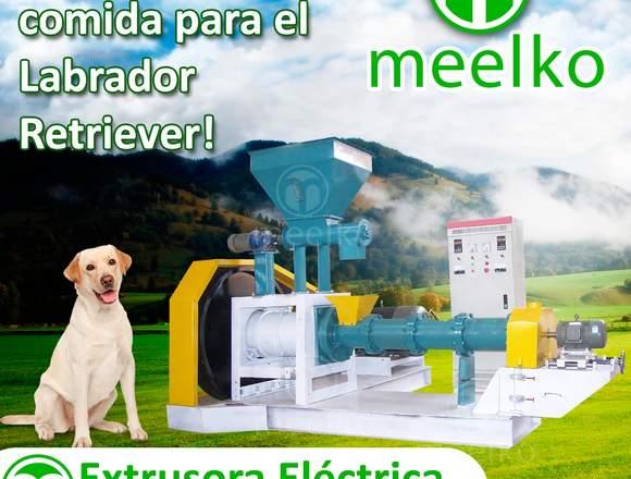 Extrusora para alimentos de perros
