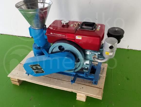 Nueva Peletizadora 150mm 8 hp Diesel para alfalfas