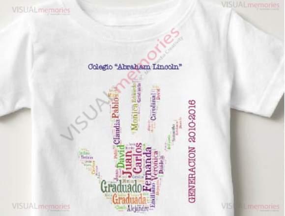 PLAYERAS DE GRADUACION - Anuto clasificados 01afc0b562746