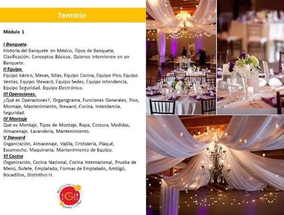 Diplomado para Emprendedores en Banquetes