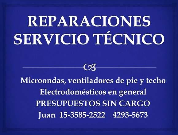 Reparaciones -Servicio Tecnico