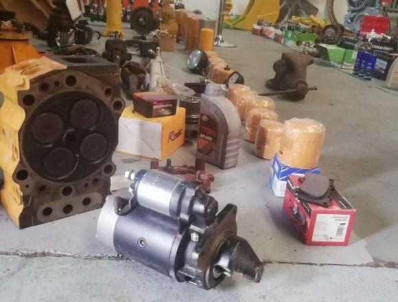 Motores arranque maquinaria..