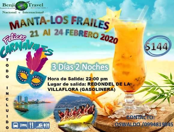 CARNAVAL EN MANTA - LOS FRAILES