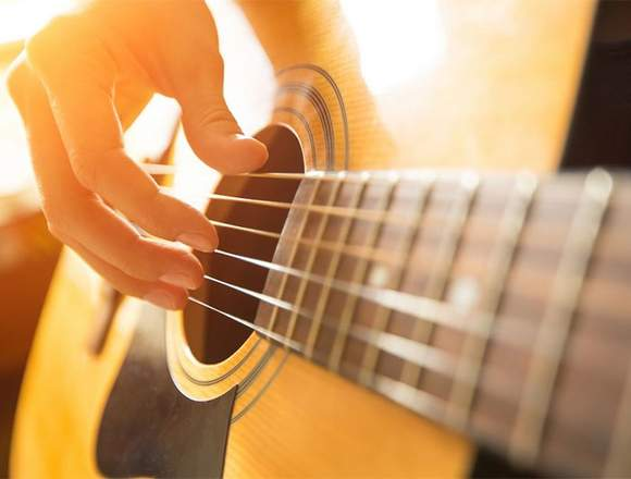 clases de guitarra niños y jóvenes a domicilio