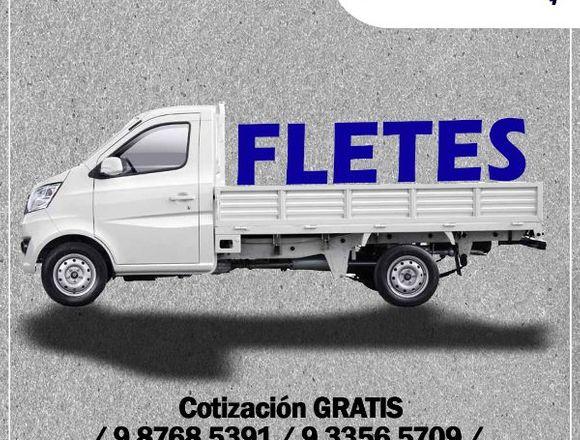 FLETES Y MUDANZAS AL MEJOR PRECIO DE CHILE