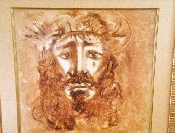 Obra de Arte Pintura Ugarte Cuadro 80 x 78 ctm