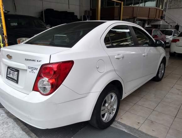 Chevrolet Sonic 2015 Blanco 138,500.00