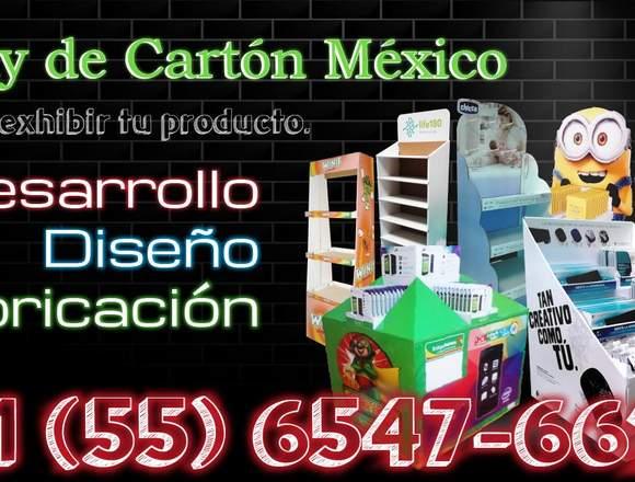 Display de  Carton Mexico