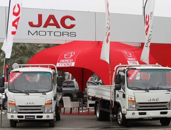 Camiones JAC MOTORS de 3, 5 y 7 Toneladas.