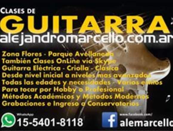 CLASES DE GUITARRA!!