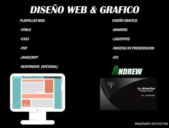 Diseño Web & Gráfico