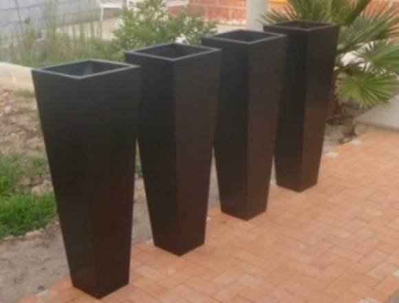 Macetas de Fibra de Vidrio de Fibra Diseños.