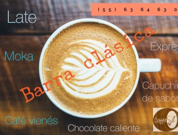 Coffee Break y Barras de Café para eventos