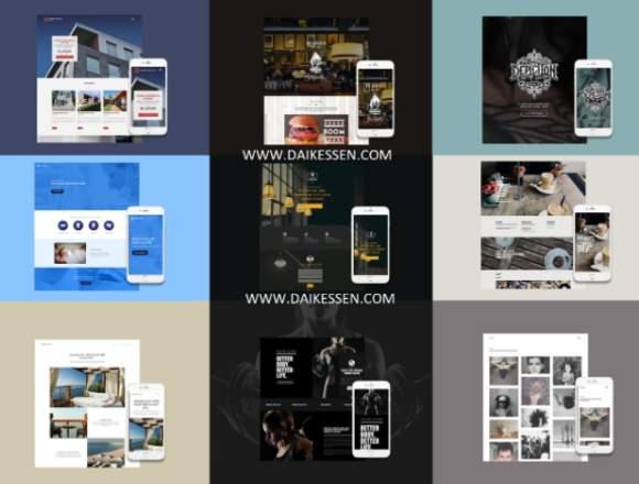 ¡Te creamos tu propia pagina web!
