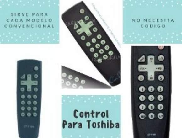 Control Remoto Tv Toshiba Convencional