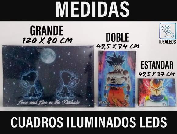 HERMOSOS CUADROS ILUMINADOS LEDS