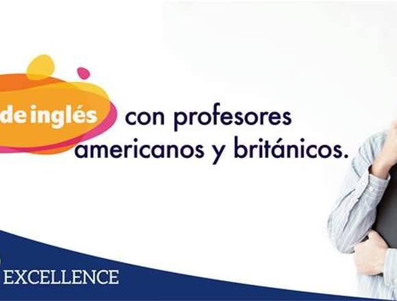 INGLES CON PROFESORES AMERICANOS Y BRITANICOS