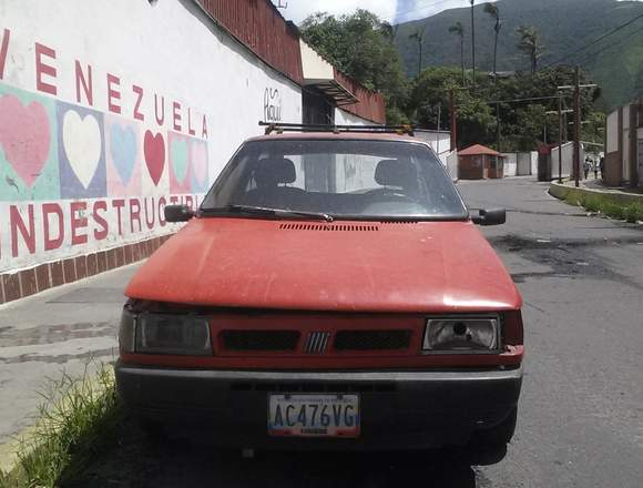 Fiat Uno Año 1997 Rojo