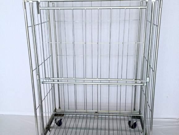 Carro roll lavanderia 1200/800/1800 mm