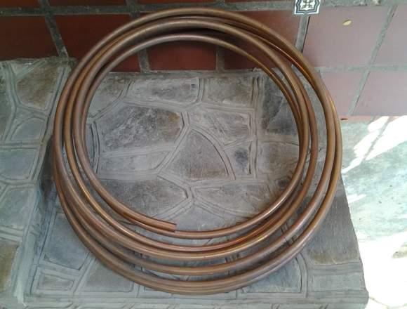 Tuberia de cobre flexible