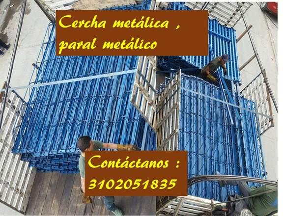 GATOS O PARAL METALICO,ANDAMIO TUBULAR