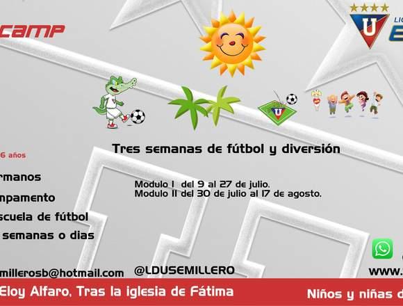 Liga de Quito vacacional