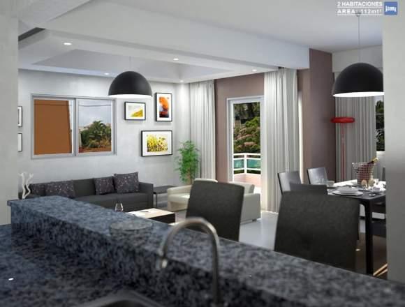 Venta de dos apartamento en Los Restauradores